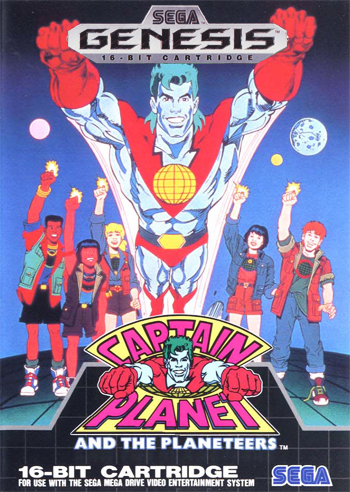 Captain Planet And The Planeteers (Europe)